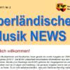 Berner Oberländische Musik NEWS Nr. 02/ Mai/Juni 2017